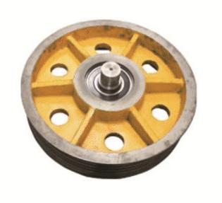 Solidne koło napędowe Otis – OT81247 5*12 w firmie Paw-Lift z Łodzi