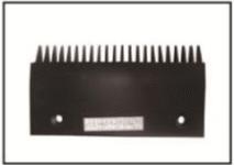 Czarny aluminiowy grzebień stopnia Schindler – SC30082G w Łodzi