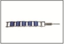 Niebieski łańcuch docisku poręczy do schodów ruchomych Schindler – SC30965