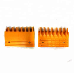 Żółte grzebienie stopnia KONE – KO50458B Paw-Lift